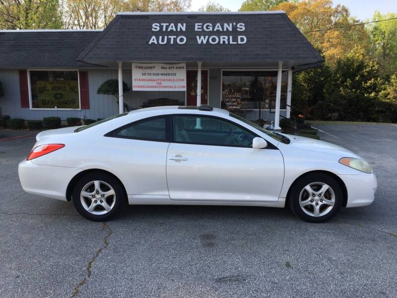 2004 Toyota Camry Solara for sale at STAN EGAN'S AUTO WORLD, INC. in Greer SC