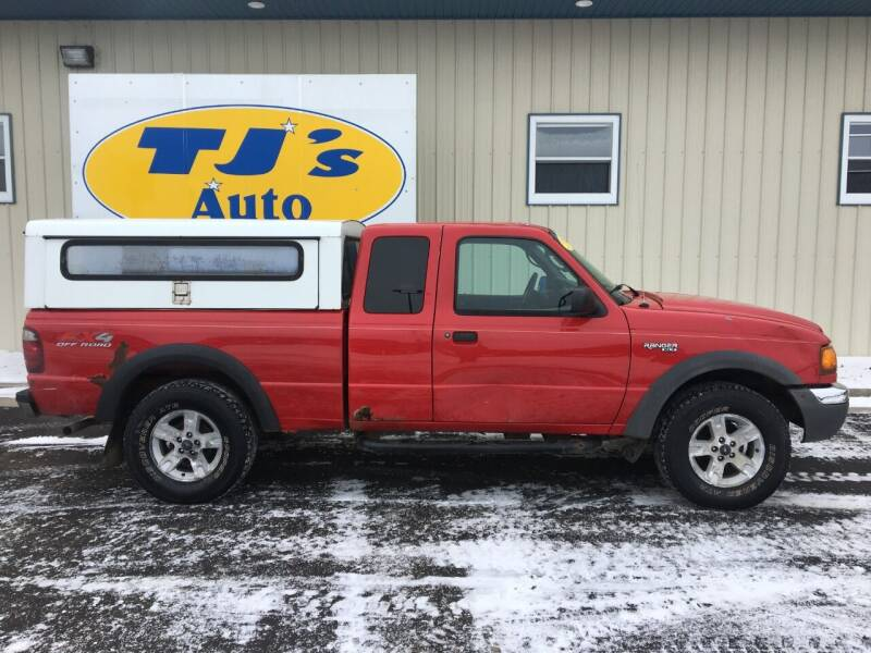 2003 Ford Ranger for sale at TJ's Auto in Wisconsin Rapids WI