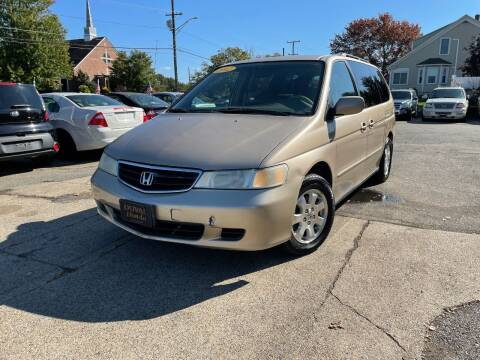 2002 Honda Odyssey for sale at Metacom Auto Sales in Warren RI