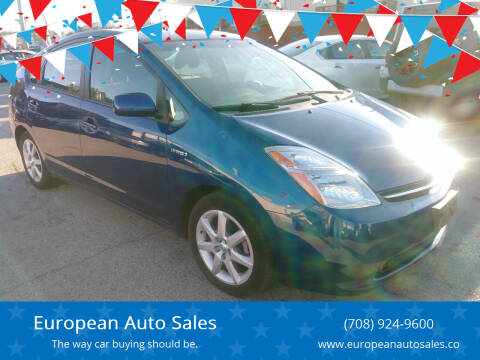 2009 Toyota Prius for sale at European Auto Sales in Bridgeview IL