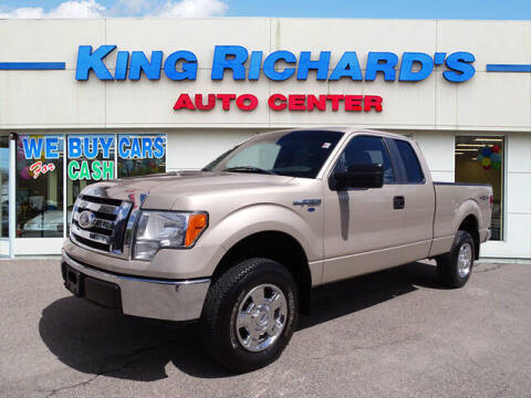 2010 Ford F-150 for sale at KING RICHARDS AUTO CENTER in East Providence RI