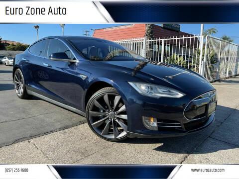 2014 Tesla Model S for sale at Euro Zone Auto in Stanton CA