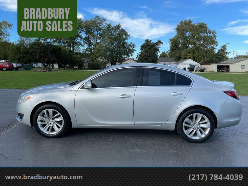 2015 Buick Regal for sale at BRADBURY AUTO SALES in Gibson City IL