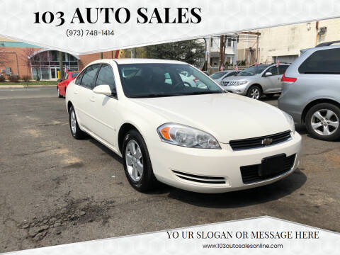 2008 Chevrolet Impala for sale at 103 Auto Sales in Bloomfield NJ