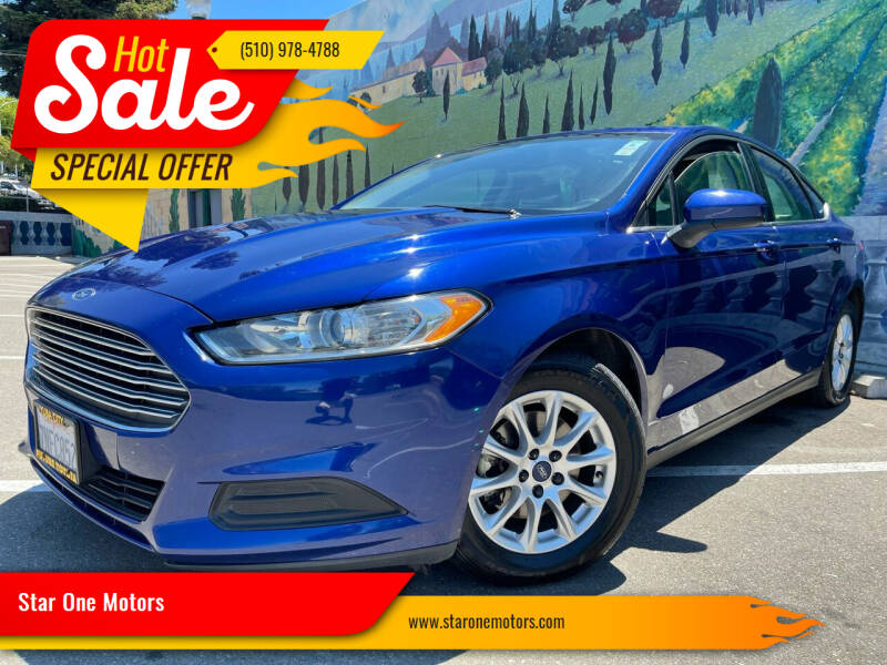 2016 Ford Fusion for sale at Star One Motors in Hayward CA