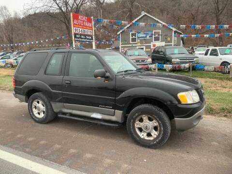 2002 Ford Explorer Sport for sale at Korz Auto Farm in Kansas City KS