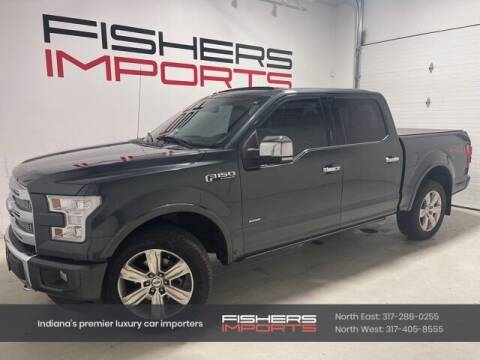 2015 Ford F-150 for sale at Fishers Imports in Fishers IN