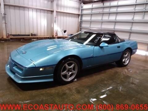 1989 Chevrolet Corvette for sale at East Coast Auto Source Inc. in Bedford VA