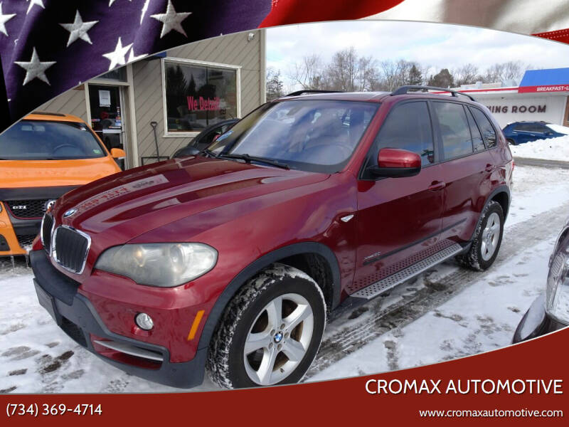2010 BMW X5 for sale at Cromax Automotive in Ann Arbor MI