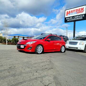 2010 Mazda MAZDASPEED3 for sale at Hayden Cars in Coeur D Alene ID