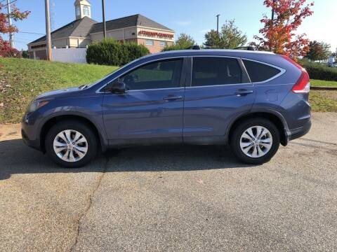 2013 Honda CR-V for sale at Bill Henderson Auto Group Inc in Statesville NC