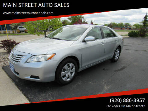 2007 Toyota Camry for sale at MAIN STREET AUTO SALES in Neenah WI