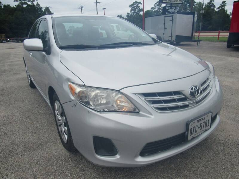 2013 Toyota Corolla for sale at Park and Sell in Conroe TX