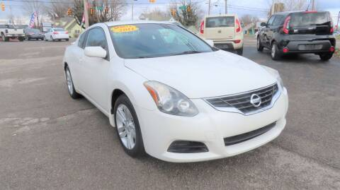 2011 Nissan Altima for sale at RIVERSIDE CUSTOM AUTOMOTIVE in Mc Minnville TN