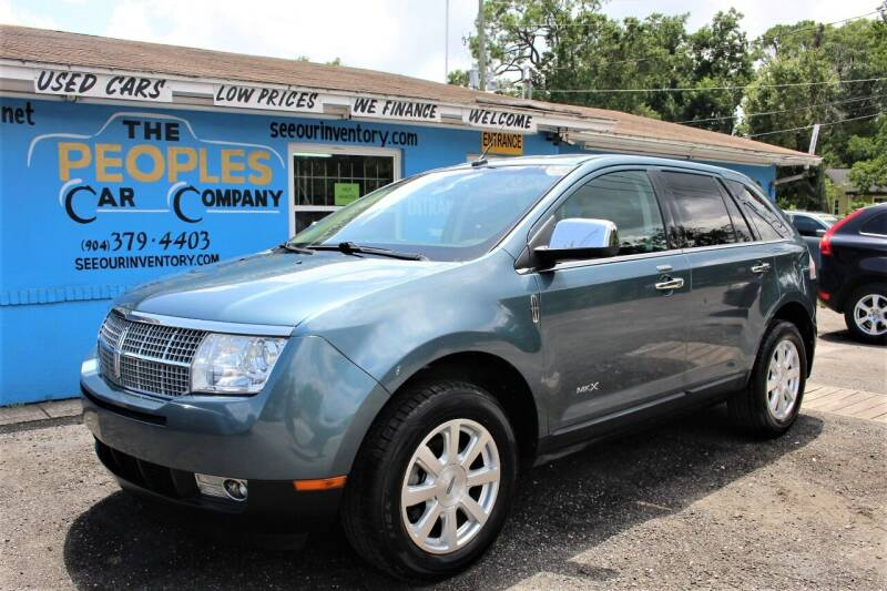 2010 Lincoln MKX for sale at The Peoples Car Company in Jacksonville FL