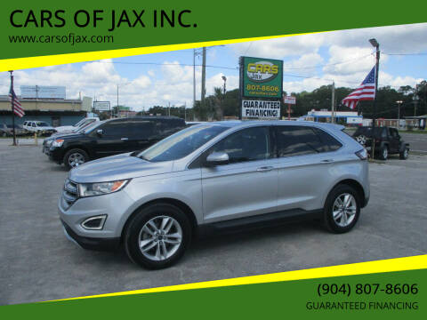 2015 Ford Edge for sale at CARS OF JAX INC. in Jacksonville FL