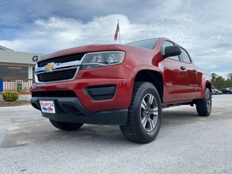 2016 Chevrolet Colorado for sale at Gary's Auto Sales in Sneads Ferry NC