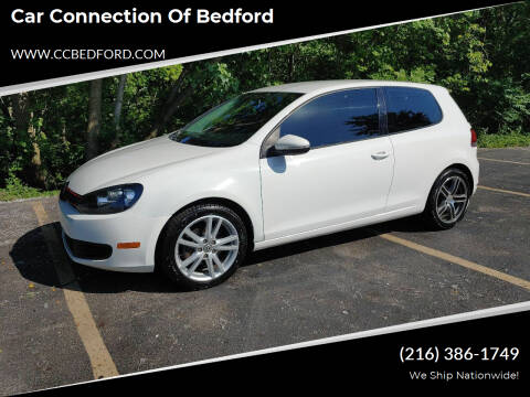 2012 Volkswagen Golf for sale at Car Connection of Bedford in Bedford OH