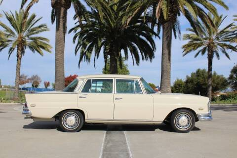 1968 Mercedes-Benz S-Class for sale at Miramar Sport Cars in San Diego CA