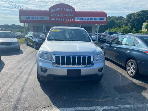 2012 Jeep Grand Cherokee for sale at Sandy Lane Auto Sales and Repair in Warwick RI