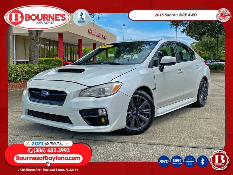 2015 Subaru WRX for sale at Bourne's Auto Center in Daytona Beach FL
