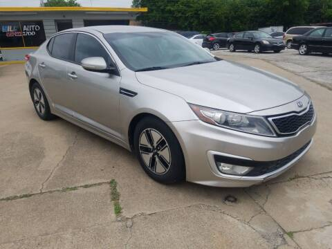 2012 Kia Optima Hybrid for sale at Nile Auto in Fort Worth TX