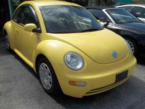 2003 Volkswagen New Beetle for sale at PJ's Auto World Inc in Clearwater FL