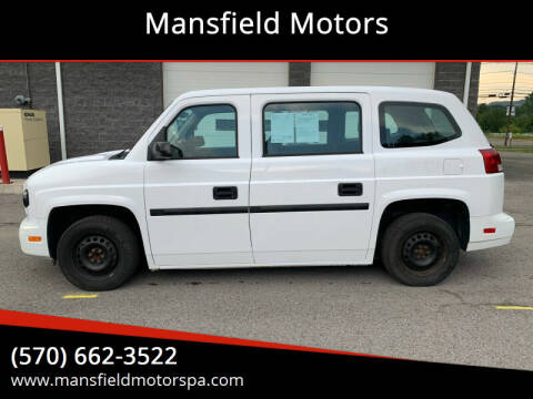 2015 Mobility Ventures MV-1 for sale at Mansfield Motors in Mansfield PA