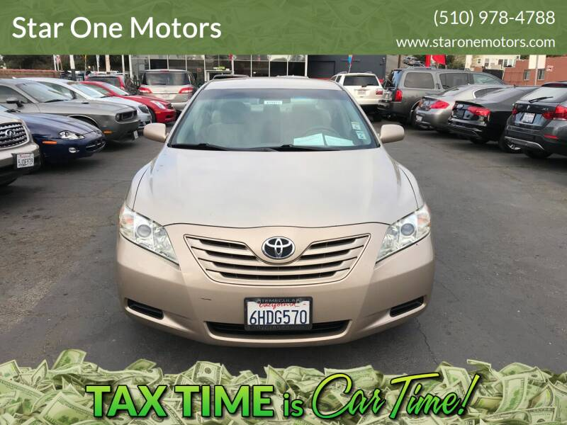 2009 Toyota Camry for sale at Star One Motors in Hayward CA
