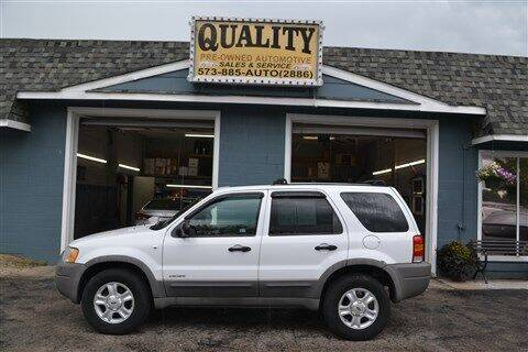 2001 Ford Escape for sale at Quality Pre-Owned Automotive in Cuba MO