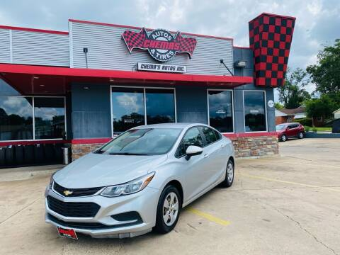 2018 Chevrolet Cruze for sale at Chema's Autos & Tires in Tyler TX