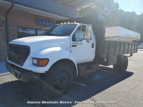 2001 Ford F-650 Super Duty for sale at Michael D Stout in Cumming GA
