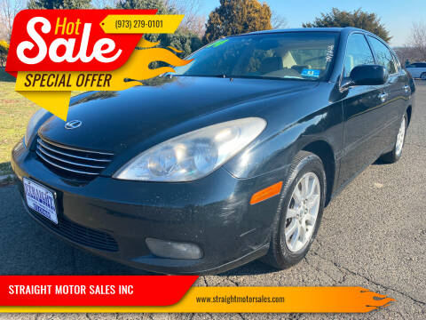 2004 Lexus ES 330 for sale at STRAIGHT MOTOR SALES INC in Paterson NJ