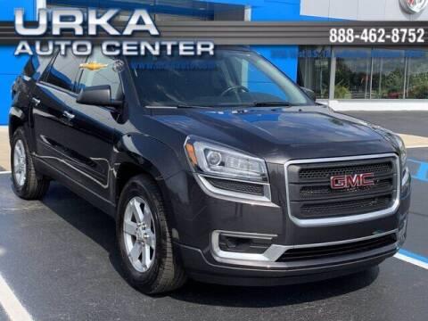 2015 GMC Acadia for sale at Urka Auto Center in Ludington MI