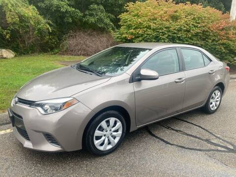 2015 Toyota Corolla for sale at Padula Auto Sales in Braintree MA