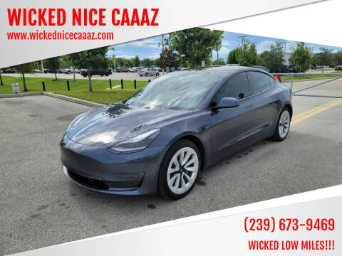 2021 Tesla Model 3 for sale at WICKED NICE CAAAZ in Cape Coral FL