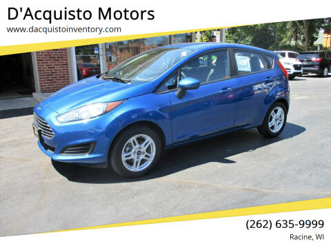 2018 Ford Fiesta for sale at D'Acquisto Motors in Racine WI