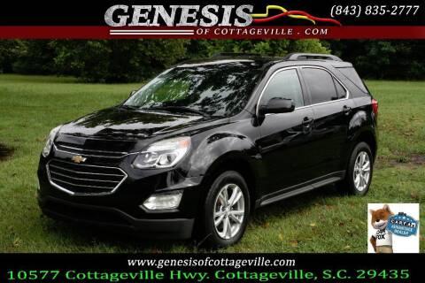 2017 Chevrolet Equinox for sale at Genesis Of Cottageville in Cottageville SC