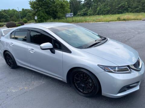 2014 Honda Civic for sale at Elite Motor Brokers in Austell GA
