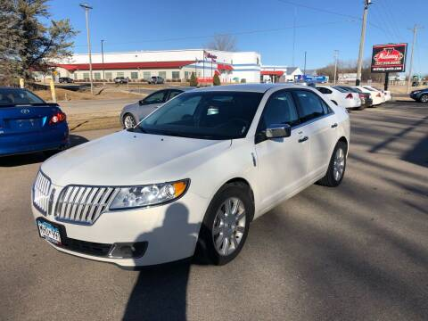 2012 Lincoln MKZ for sale at Midway Auto Sales in Rochester MN