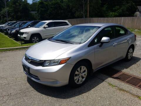 2012 Honda Civic for sale at AMA Auto Sales LLC in Ringwood NJ