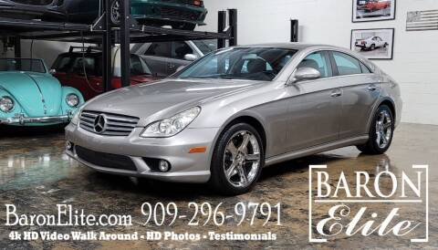 2006 Mercedes-Benz CLS for sale at Baron Elite in Upland CA
