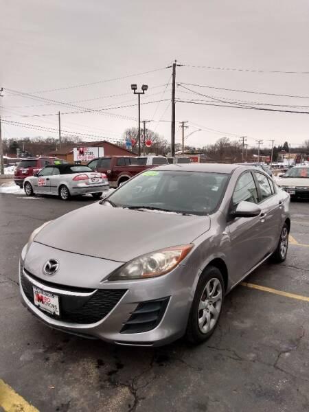 2010 Mazda MAZDA3 for sale at Miro Motors INC in Woodstock IL