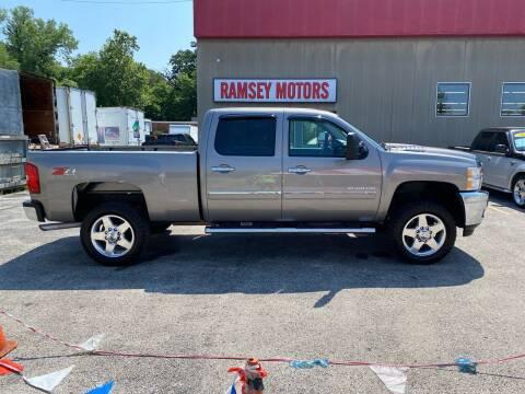 2013 Chevrolet Silverado 2500HD for sale at Ramsey Motors in Riverside MO