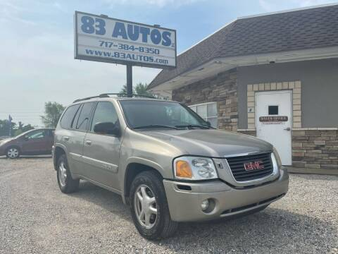 2002 GMC Envoy for sale at 83 Autos in York PA
