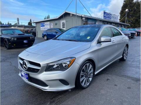 2018 Mercedes-Benz CLA for sale at AutoDeals in Hayward CA
