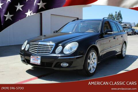 2008 Mercedes-Benz E-Class for sale at American Classic Cars in La Verne CA
