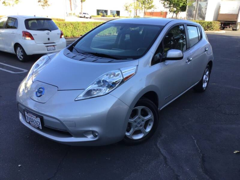 2013 Nissan LEAF for sale at Tri City Auto Sales in Whittier CA