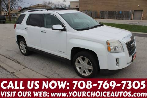 2011 GMC Terrain for sale at Your Choice Autos in Posen IL