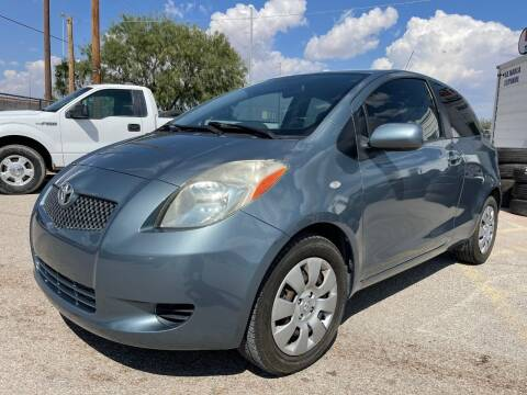 2008 Toyota Yaris for sale at Eastside Auto Sales in El Paso TX